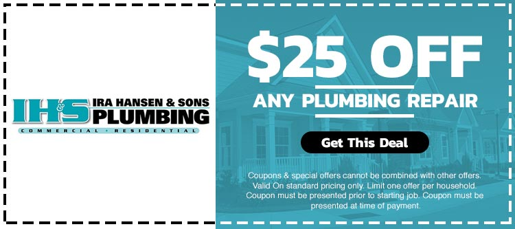 discount on any plumbing repair