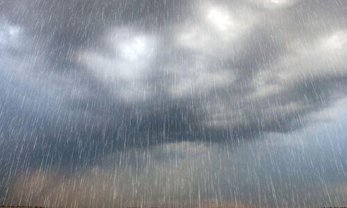 heavy rain Ira Hansen
